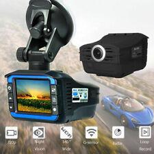 2 in 1 Anti Radar Laser Speed Detector 720P Car DVR Video Dash Camera Night
