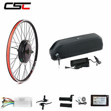 Ebike Conversion Motor Kit With Battery Pack 20-29 inch 48V Electric Bicycle Kit