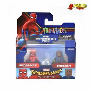 Marvel Minimates Series 73 Spider-Man Homecoming Movie Spider-Man & Shocker
