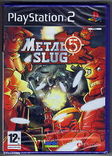 Complete Sony PlayStation Ps2 Metal Slug 5