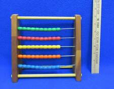 Abacus Sandberg 5 Row Bead Counting Math Mathematics Counting Tool 50 Total