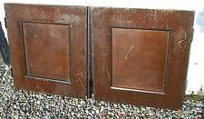 2 x Panelled Cupboard Pine Doors