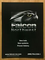 1999 Falcon Northwest Vintage Print Ad/Poster Gaming Computer Systems Promo Art