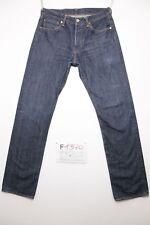 Levis 501 Tg.46 W32 L34 (Cod.F1370) boyfriend jeans usato