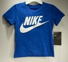 Boys 2T Nike Short Sleeve T-Shirt Nwt Game Royal Blue in color