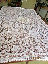 Darvel (Scotland) Lace Tablecloth Vintage 1950/60s