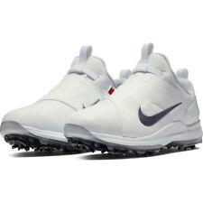 Nike Tour Premiere PGA Golf Shoes Men's Size 8.5 # AO2241 101 White Metallic