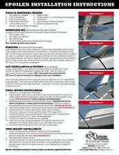 2006 - 2008 Lexus IS250 IS350 Painted Rear Lip Spoiler