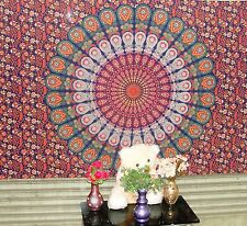 Indian Wall Hanging Mandala Tapestry Hippie Bedspread Bohemian Bedding Cover New