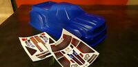Unbreakable body for Traxxas XMaxx Dodge Ram in blue!! With Stikers!!!