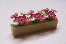 PLAYMOBIL (J403) EPOQUE 1900 - Jardinière Bac à Fleurs pour Maisons 5300 5305
