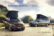 Mercedes Marco Polo & Activity 09 / 2014 catalogue brochure