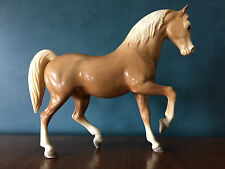 VINTAGE BREYER FAMILY ARABIAN STALLION, FAITH #4, GLOSSY PALOMINO 1960's