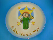 Hummel Christmas Plate Herald 1977 Schmid West Germany