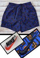 VTG Nike Geometric Aztec Abstract All Over Swim Shorts Bathing Suit ACG 90s XXL