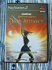 Baldur's Gate Dark Alliance - Ps2 Playstation 2 - Completo - Edicion España