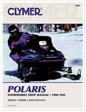 Clymer S833 Service Shop Repair Manual Polaris Snowmobile 90-95 S833 27-S833