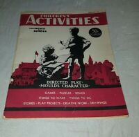 Children's Activities Magazine February 1946 For Home and School