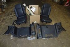 Land Rover Discovery 2 Deluxe Jump Seats w. Hardware  Seat Belts Trim Black