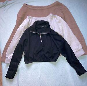 Womens / Teenager Clothes Bundle Jumper Bundle Size 6-8 PLT Missguided