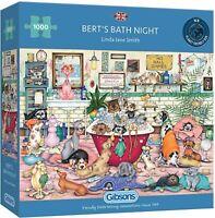 Gibsons Bert's Bath Night 1000 Piece Jigsaw Puzzle