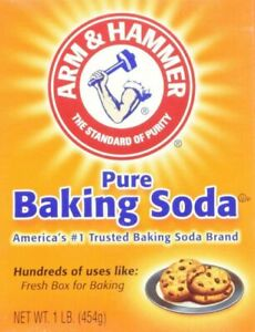 ARM & HAMMER PURE BAKING SODA LARGE 454g CLEANING BAKE