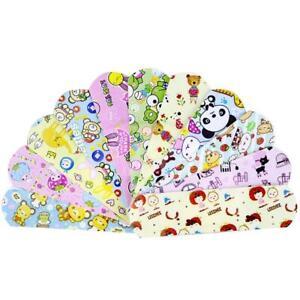 100Pcs Wateproof Cartoon Bandage Band-Aid Hemostatic Adhesive For Kids GifU9U8