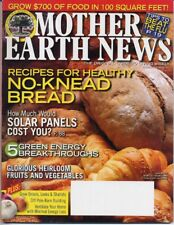 Mother Earth News, December 2009 - January 2010  No Knead Bread