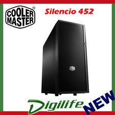 Cooler Master Silencio 452 Gaming Mid Tower Computer Case Coolermaster No PSU