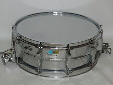 """Vintage 1970s Ludwig Supersensitive 5 x 14"""" Snare Drum B/O # 950544"""