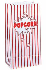 Disposable Paper Popcorn Bags (Pack of 10)