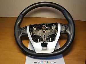 Renault Laguna 2007-12, MK3, Leather Black Multifunction Steering Wheel, OEM