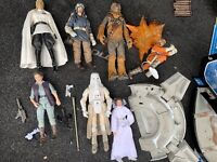 Star Wars: the Black Series loose Figures 6' lot of 7 very good condition