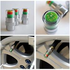 4X Car Auto Bike Tire Monitor Valve Dust Cap Pressure Indicator Sensor Eye Alert