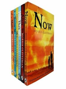 The Once Series 6 Books Set Pack by Morris Gleitzman (Now, Af   Morris Gleitzman