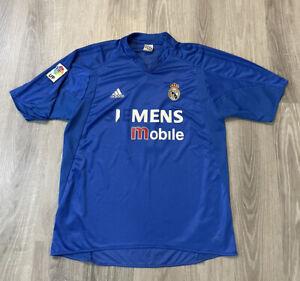 VTG Adidas Real Madrid 2003 R. CARLOS #3 Men's Size XL Soccer Jersey Football