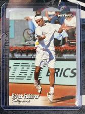 2003 Netpro Glossy ROGER FEDERER #G11 Rookie Card RC - GOAT! Invest Now!