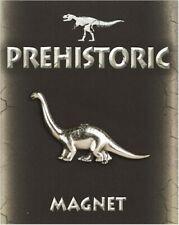 Diplodocus Dinosaur Magnet in Fine Pewter