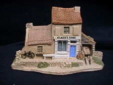 Lilliput Lane Irish Collection Cottage O'Lacey's Store w/ pamphlet deed box