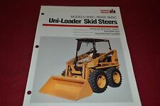 Case International 1816C 1835B 1845C Skid Steer Loader Dealers Brochure YABE10