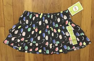 XL Toddler /& Girls Eddie /& Stine $32 Sporty Cotton Skirts Size 2T 16//18