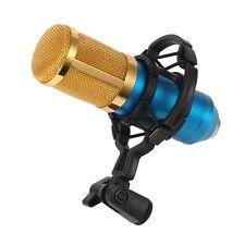 Universal Mic Microphone Shock Mount Clip Holder Studio Sound Recording Black