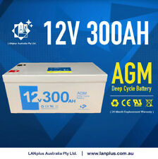 12V 300AH AGM SLA Deep Cycle Battery Caravan Solar Camping Camper 4WD > 250AH