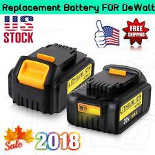 2 Pcs For Dewalt 20V 6.0Ah Li-lon DCB200 DCB180 DCD985B Rechargeable Battery US