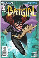 Batgirl #1 New 52 DC Comics 1st Print Adam Hughes VF/NM