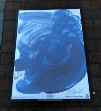 London 2012 Olympics ART POSTER A3 size Team GB Women/'s Cycling Pursuit Team