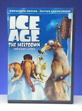 Ice Age The Meltdown Widescreen English French Bilingual Francais Used DVD B767