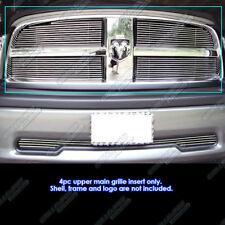 Fits 2009-2012 Dodge Ram 1500 Pickup Billet Grille Grill Insert