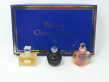 VINTAGE 1990'S CHRISTIAN DIOR MINI PERFUMES 5ML GIFT SET MISS DIOR POISON DUNE