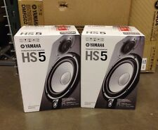 "YAMAHA HS5 POWERED STUDIO MONITOR >>PAIR<<, 5"", 2-Way, 70W  Free Shipping!"